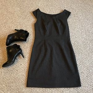 Merona Sz6 Work Sheath Dress Capped Sleeve Classy!